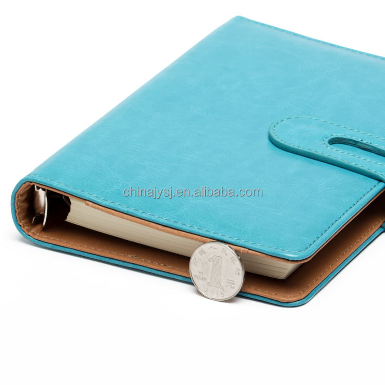 Cuoio 3d 3 anello giapponese planner notebook