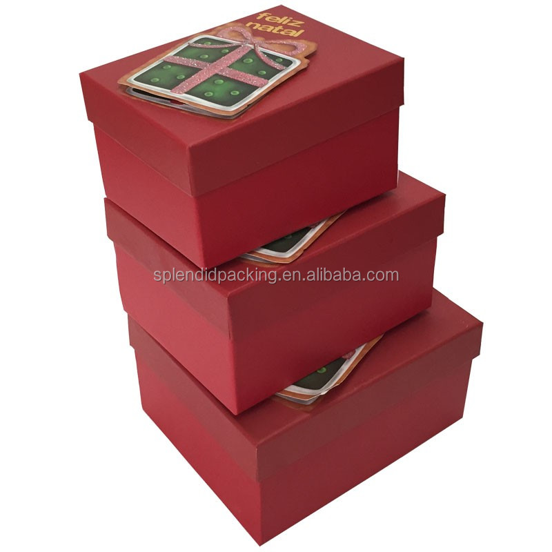 Hot Sale Handmade Luxury Custom Printing Flower Design Logo Paper Packing Box
