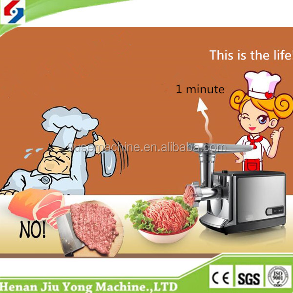 Cheap sale high capacity meat grinder electric used