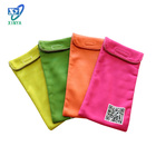 China wholesale heat transfer print microfiber felt jewelry pouch