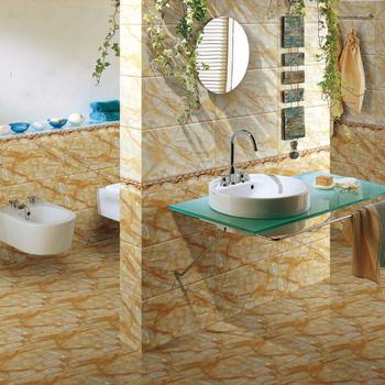 25 40 Inkjet Textured Wall Digital Ceramic Tiles For Bathroom