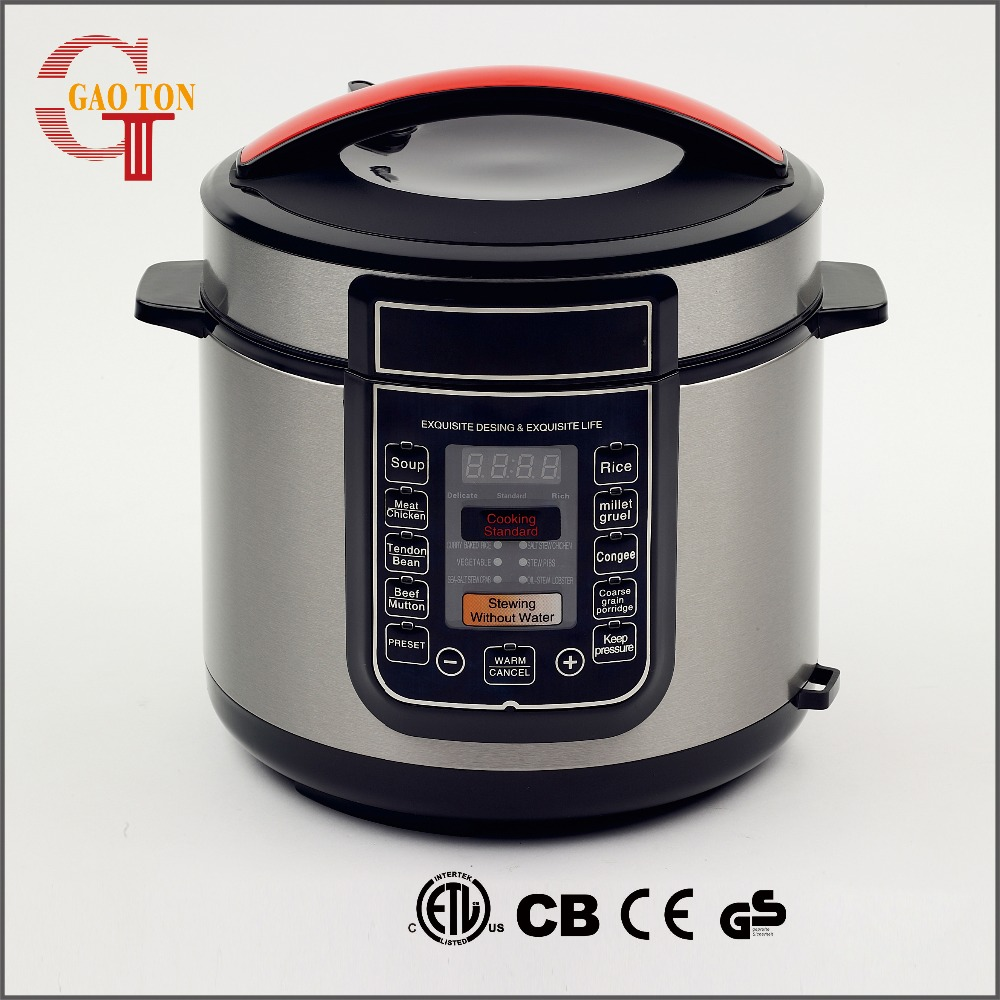Durable stainless steel presto pressure cooker with Fashionable handle