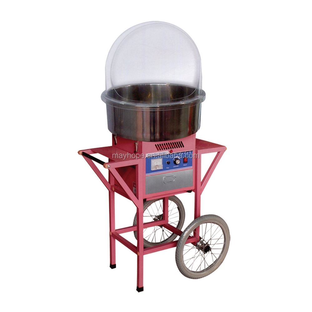 High Efficient commercial cotton candy /  waffle machinery professional for sale