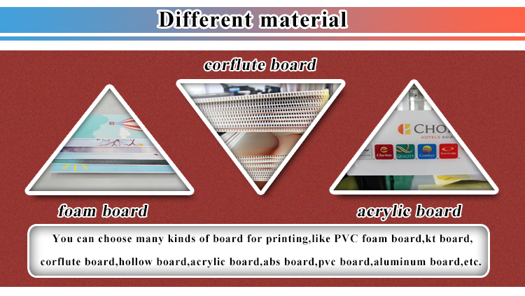 Board Sign Screen Advertising Logo Printing