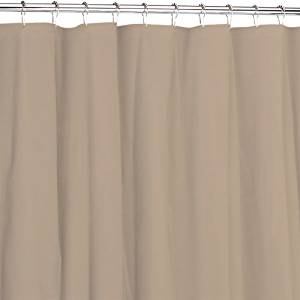 Get Quotations Heavy Duty Magnetized Shower Curtain Liner Mildew Resistant Color Linen