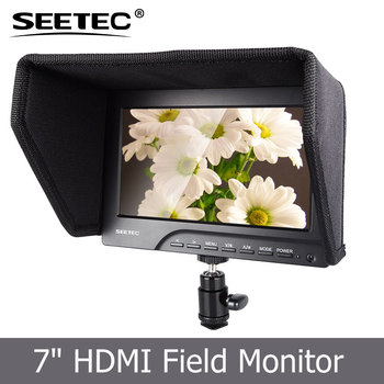 Cheap 7 Inch Dc12v Widescreen Camera Top Lcd Field Monitor With Hdmi Input  Built-in Speaker Check Field Function - Buy Lcd Field Monitor,7 Inch Dc12v