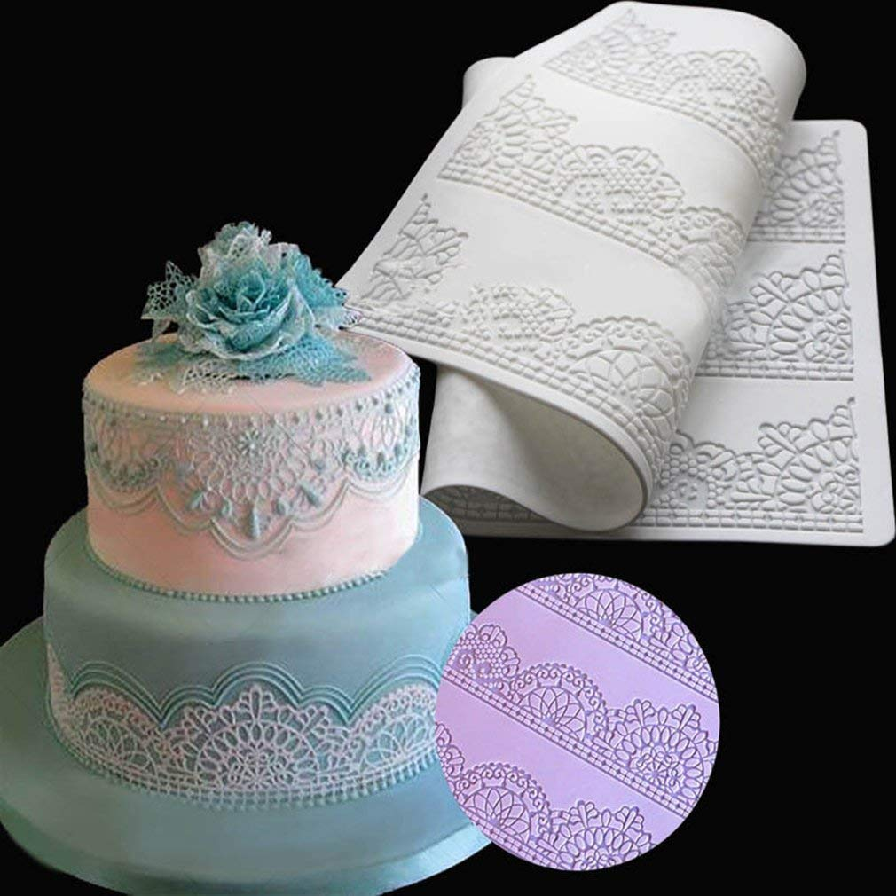 Home & Garden Kitchen,dining & Bar Diy Sugar Craft Cake Vintage Relief Border Silicone Mold Fondant Mold Cake Decorating Tools Gum Paste Mold Complete Range Of Articles