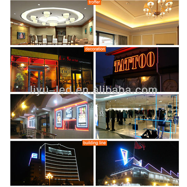 High bright & cold solid-state LED neon lighting strip/rope/tube