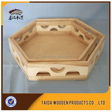 Natural Wooden Communion Tray Made In China