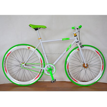 700C fixie bike hi-ten bicycle single speed