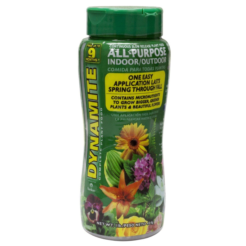 Dynamite All-Purpose Indoor/Outdoor Slow Release Fertilizer 1lb. 18-6-8