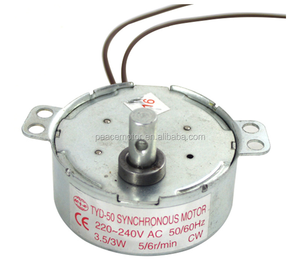 220V 12V 24V TYD-50 CW CCW AC Synchronous Motor with cheap price