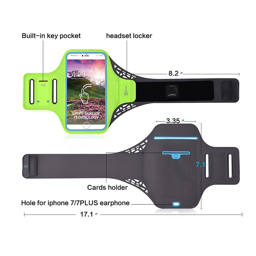 wholesale low MOQ arm bag running sport armband for iphone 5/5s