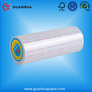 Hot sale wholesale price pre-printed thermal price label tag roll