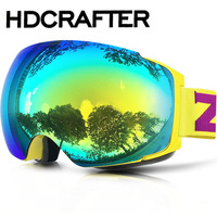 2016 X4 Goggles UV400 Anti-UV Windproof Snowboard Skate Motorcycle Cycling Sunglasses Skiing Eyewear