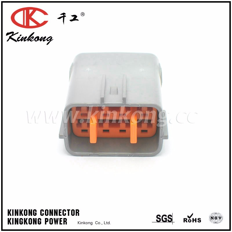 China high popularity 8 way male sumitomo connector 6195-0054
