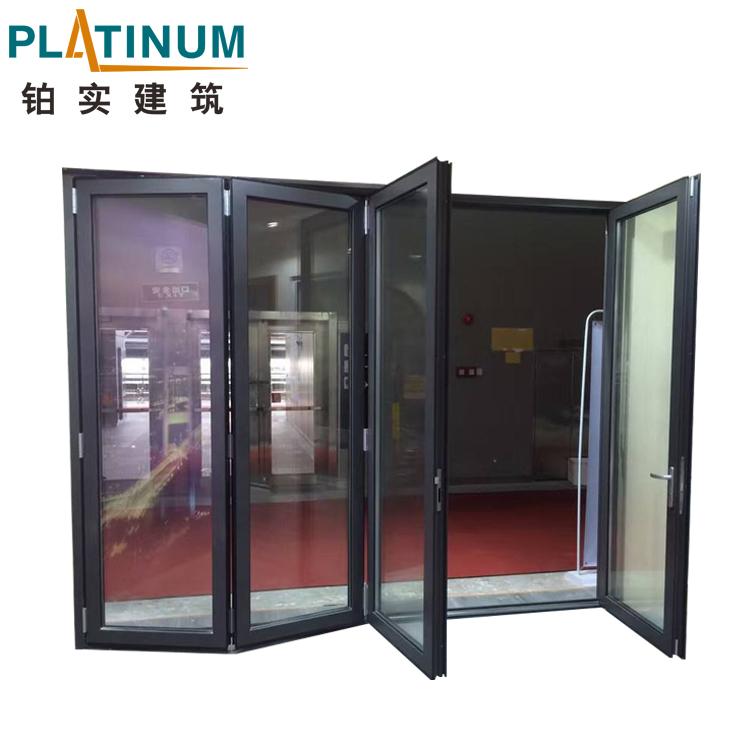 sports shoes cf8f6 19d29 Soundproof Double Glass Thermal Break Aluminum 2 Door Bi Fold Doors - Buy 2  Door Bi Fold Doors,Bi Fold Doors,Door Bifold Product on Alibaba.com
