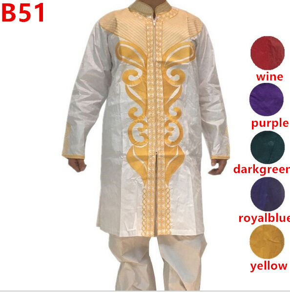 newest African Style Men's wear wax cloth high quality african dashiki dress for men