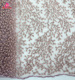 Good Quality Pink Beaded Sequined Lace Fabric/Shows Fashion Lace Fabric/Party dress Lace Fabric