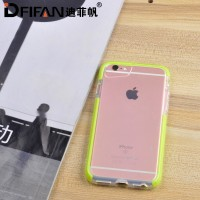 DFIFAN 2017 Hot selling phone accessory for iphone 7 7plus case tpe tpu hybrid phone case