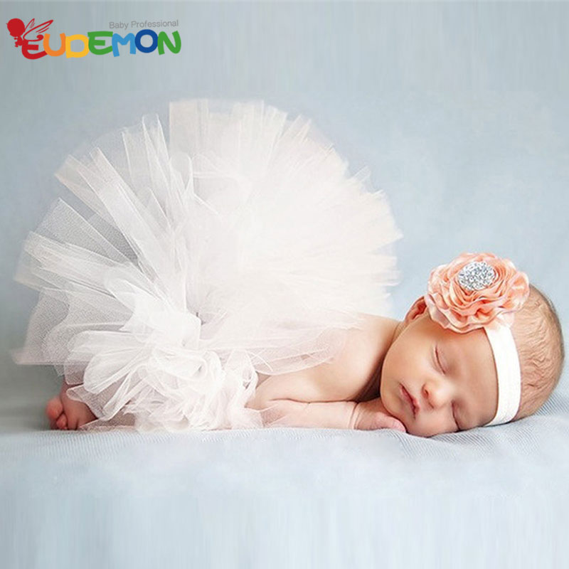 2016 Summer baby newborn photography props tutu Skirts for infant fotografie achtergronden Baby Girls Skirt with
