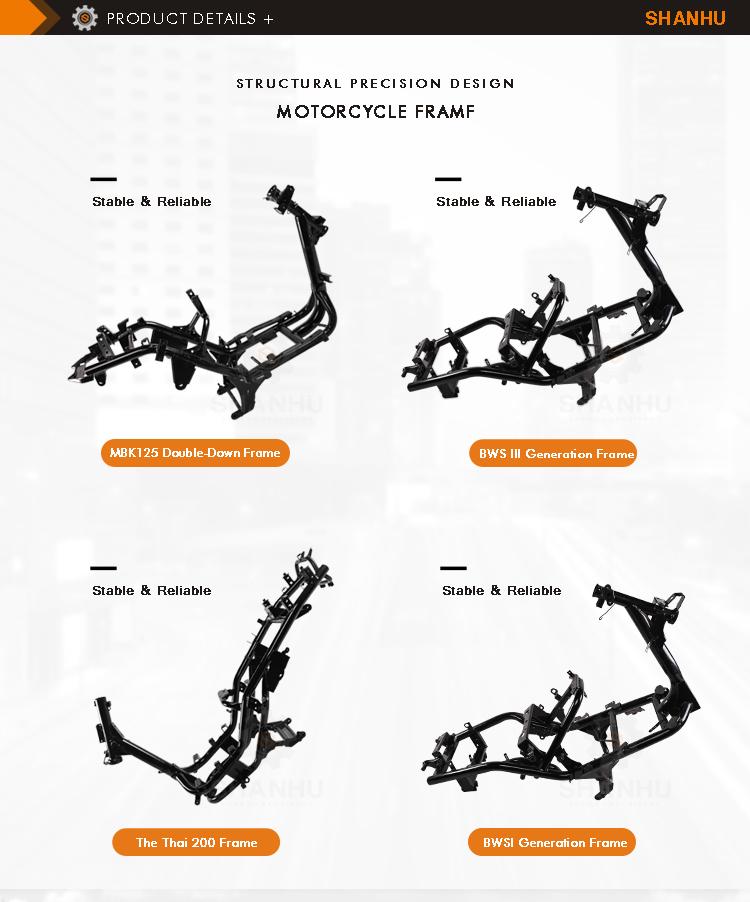 Beste Preis Elegante Design Customization Gas-roller Motorrad Körper ...