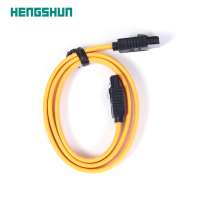 50cm flat premium SATA to SATA data cable with shield braiding