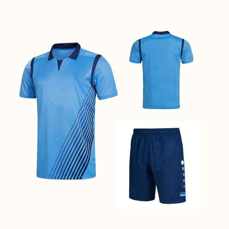 2019 Soccer Jersey Set Uniform Short Sleeve Football Jersey Shorts, Any color is available