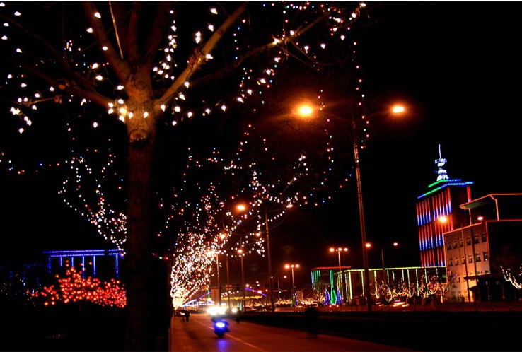 wholesale 100 led colorful energia solar string fairy lights outdoor waterproof christmas led. Black Bedroom Furniture Sets. Home Design Ideas