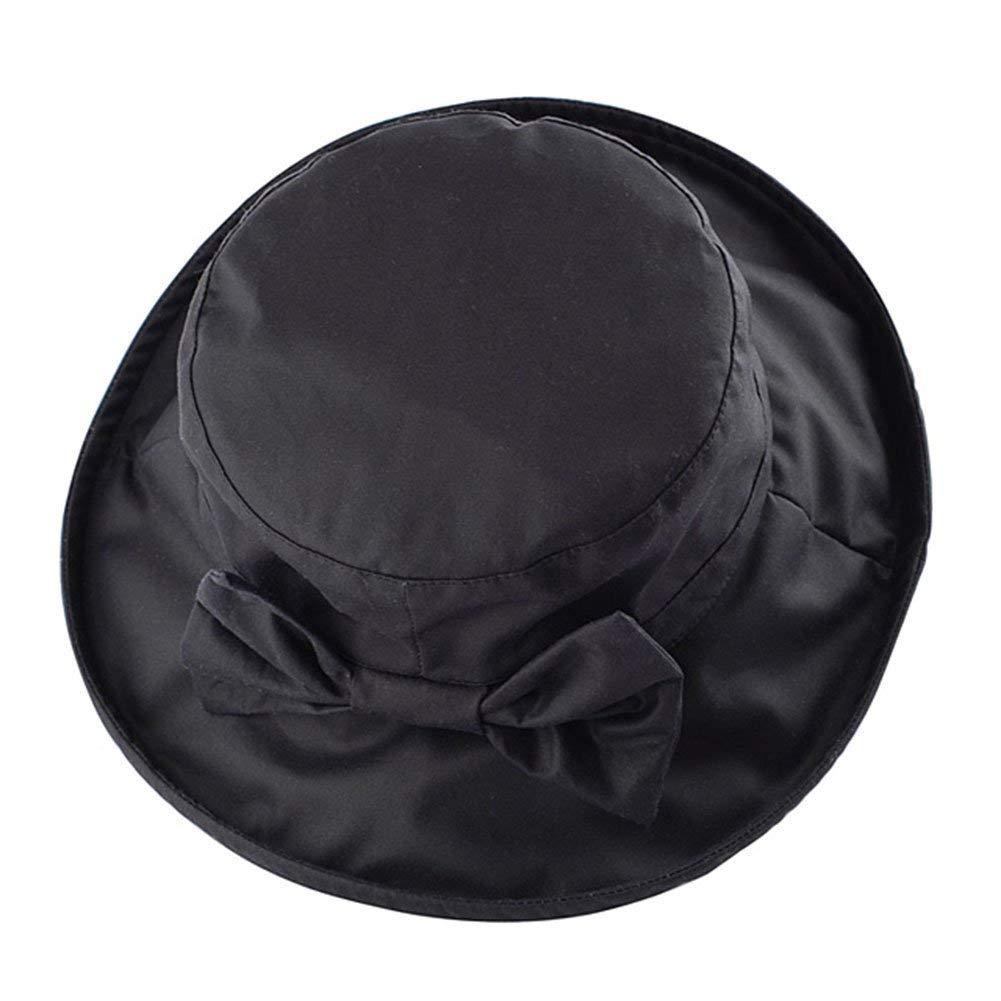 b6f26ddd272 Get Quotations · WAXED COTTON BOW CANVAS LADIES WIDE BRIM HAT