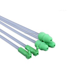 Disposable foam tip pig Semen Catheter with tail