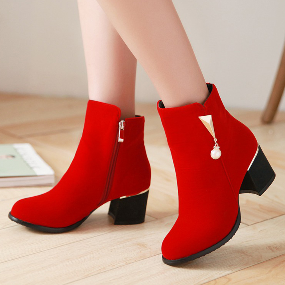 Red Peep Toe Shoes Ireland