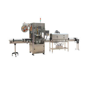 Labeling machine that can apply labels on glass jam jars ,