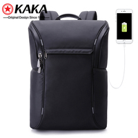 2019 factory popular student kaka usb fashion bag mens school bags travelling waterproof laptop school backpack