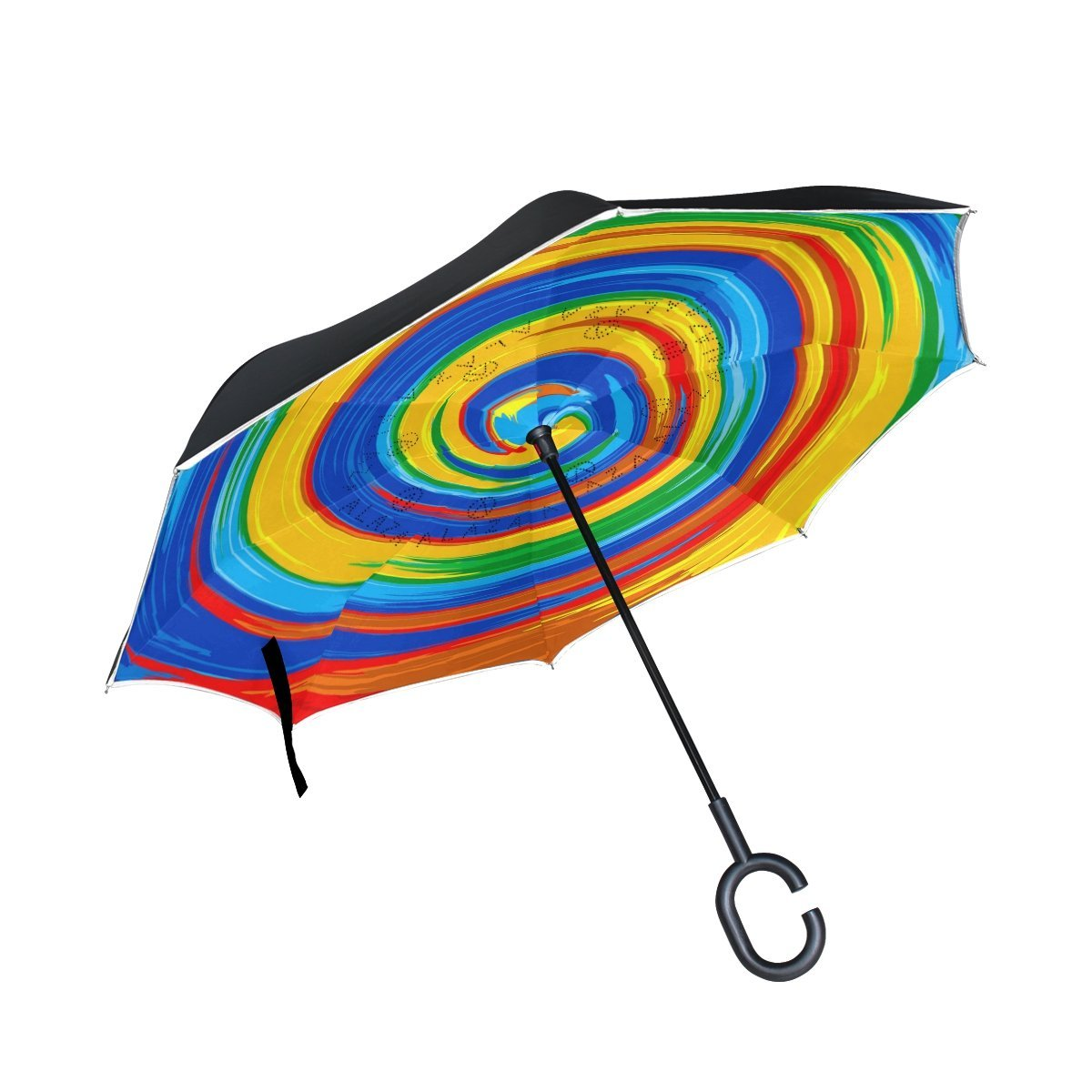 Personalized Drop Spray Splash Portable Umbrella Fashion Folding Travel Umbrella