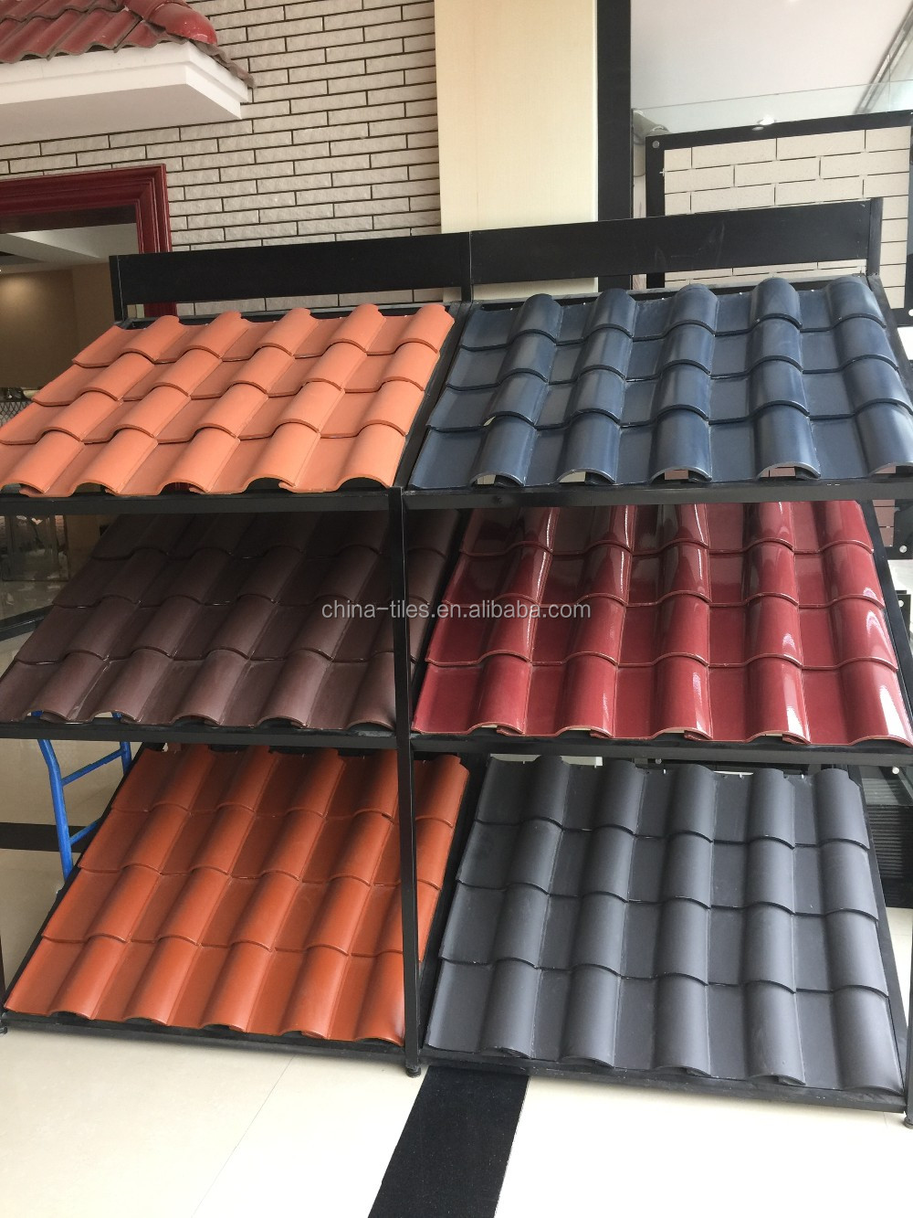Spanish Style Terracotta Materials Roof Tiles Price In