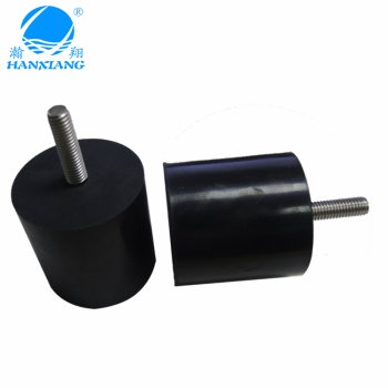 China suppliers OD50*50H*M8*30 screw fix rubber feet for equipment