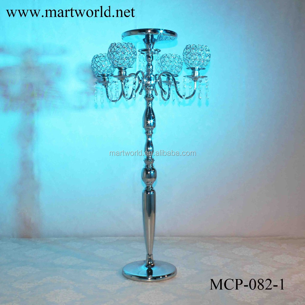 2017 new crystal center piece wedding decoration wedding table centerpiece acrylic (MCP-082)