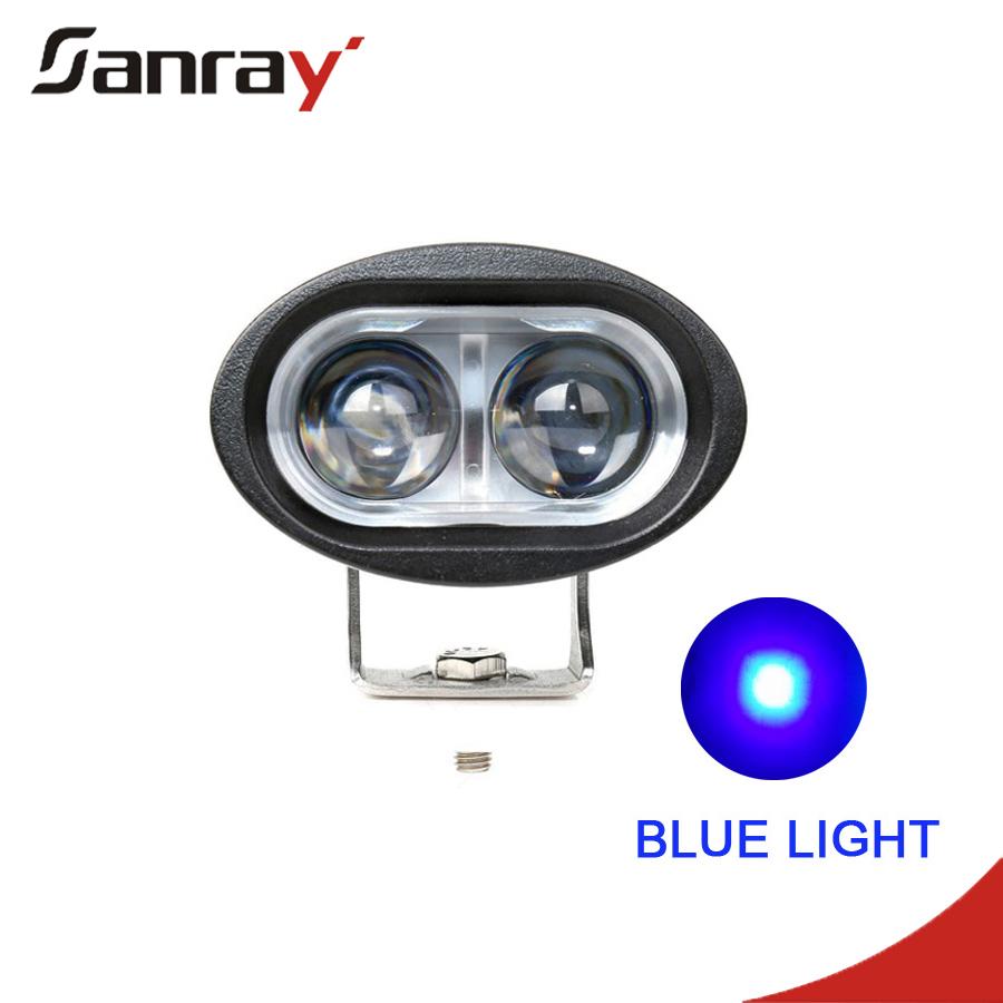 Forklift Lamp Manufacture 12v LED CREE headlight for forklift led work light10w cree blue led forklift lamp