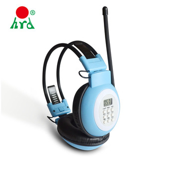 With Logo Fm Radio Headphones With Built In Player - Buy Headphones With  Logo,Headphones With Built In Player,Fm Radio Headphone Product on