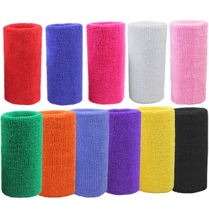 15*7.5cm Wrist Brace Support Sport Wristband Sweatband for Gym Volleyball Tennis Hand Sweat Band Wraps Guards