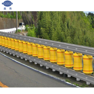 Low price Road roller barrier highway guardrail to protect safe