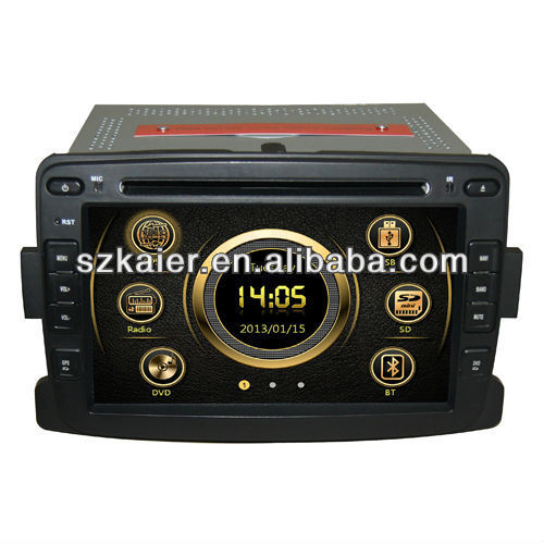 7 inch Special Car GPS Navigation Car DVD Player for Renault Duster