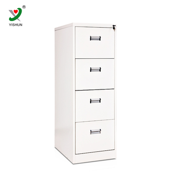 Office Furniture Modern 4 Drawer Steel Filing Cabinet Pulls Metal File