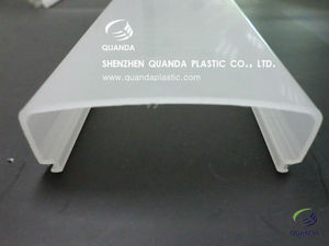Extrude profile PC streetlights lampshade supplies