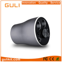 GULI New Arrival Car Cup Charger With Bluetooth Earbuds 4 in 1 Premium Design 3.1A Dual Usb Ports With 2 Cigarette Lighters Low
