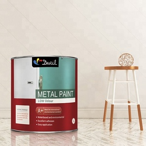 DWIL Non Toxic Spray Or Brush Waterbased Paint For Metal