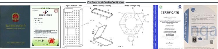 Trasparente dura del PC per il caso di air pod caso di disegno su misura