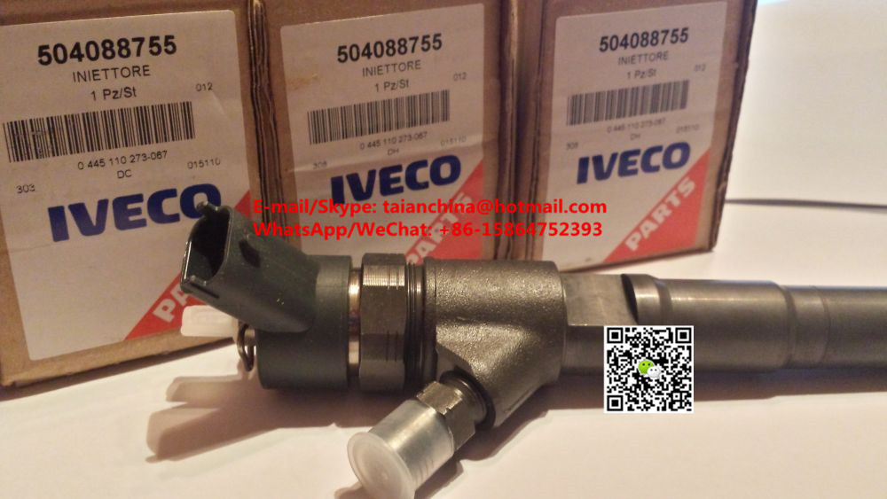 Common Rail Injector 0445110273 for IVECO, FIAT 504088755, NEW HOLLAND 504377671