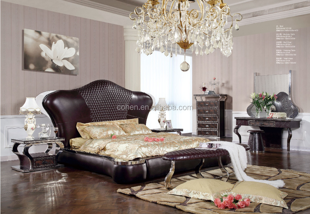 luxus schlafzimmer set neue design schlafzimmer setzt m bel yc123 metallm bel set produkt id. Black Bedroom Furniture Sets. Home Design Ideas